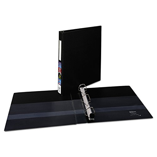Ring Binders Avery 3 (Avery Heavy-Duty Binder with 1-Inch One Touch EZD Ring, Black (79990))