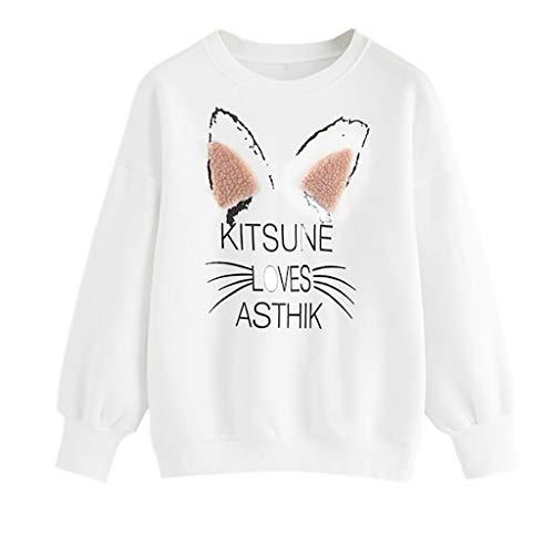 EraseSIZE Women's Winter Warm and Soft Casual Stripe Tape Detail Crop Sweatshirt Sports Sweatshirt Tops (S) ()