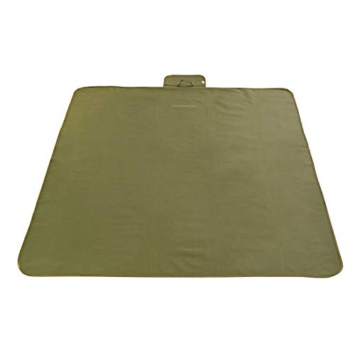 ZDTXKJ Outdoor Picnic Blanket Water-Resistant Beach Blanket Solid Color Foldable Wear-Resistant Oxford Cloth,Green2,145200cm