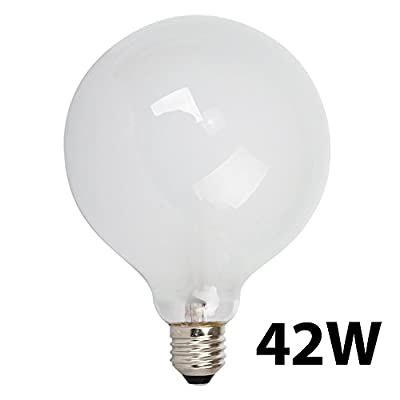 large 42w es e27 gls frosted globe energy saving eco halogen light bulb Large 42w ES E27 GLS Frosted Globe Energy Saving Eco Halogen Light Bulb 31a8W9WEGPL