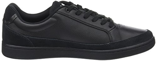 outlet top quality Lacoste Men's Setplay 317 1 Bass Trainers Black (Blk/Blk) cheap real finishline fashion Style sale online outlet locations sale online pTw44B1