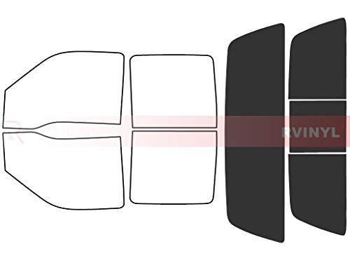 Rtint Window Tint Kit for Ford F-250 1999-2007 (4 Door) - Rear Windshield Kit - 20%