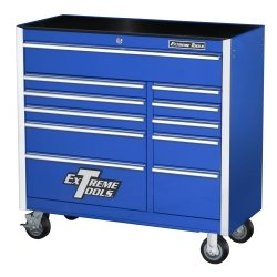 "41″"" 11 Drawer Professional Roller Cabinet – Blue Tools Equipment Hand Tools"