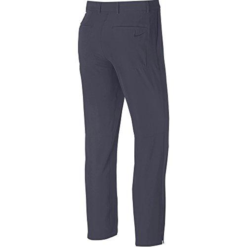 Nike Mens Flex Ibrido Golf Pantaloni Ossidiana / Erica / Ossidiana