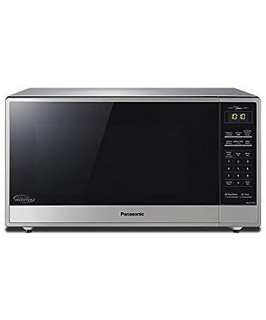Panasonic NN-ST775S 1.6 Cu. Ft. 1200 Watt Countertop Microwave Cyclonic Inverter Stainless (Renewed)