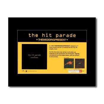 Music Ad World Wedding Present - The Hit Parade Mini Poster - 21x13.5cm (Wedding Present Hit Parade)