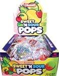 Sweet & Sour Pops:48 Count (Sweet Sour Lollipops)
