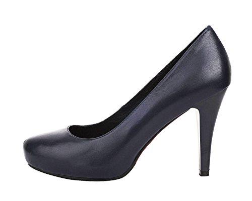 3d49aee88b4 Verocara Women s Genuine Leather Shark Head Toe Stiletto Heel Pump Shoes 60% OFF
