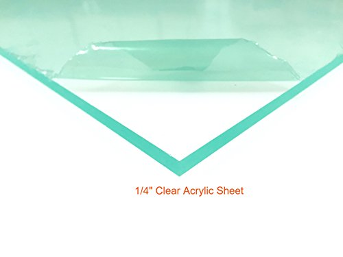 Clear Acrylic Plexiglass Sheet - 1/4
