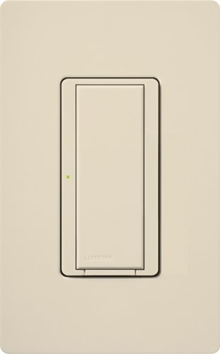 Lutron MRF2-6ANS-LA 120 Volt at 50/60 Hz 1-Pole Multi-Location Digital Switch With Neutral Wire Light Almond Maestro Wireless
