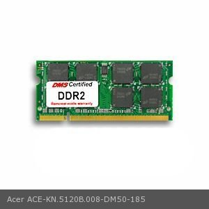 DMS Compatible/Replacement for Acer KN.5120B.008 TravelMate 3003WLMi 512MB DMS Certified Memory 200 Pin DDR2-533 PC2-4200 64x64 CL4 1.8V SODIMM - DMS