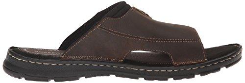Ii Sandal Slide Leather Rockport Brown Men's Darwyn 2 qwwY6Zx