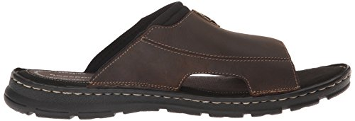 2 Leather Rockport Slide Darwyn Men's Ii Brown Sandal q6Spgx