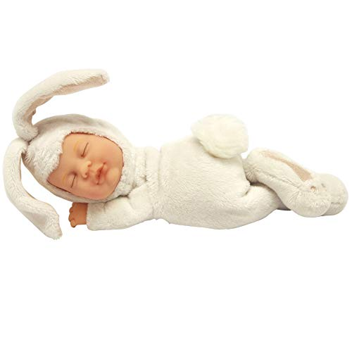 License To Play Ann Geddes Baby Bunny Snow Doll 10