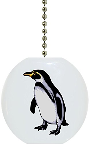 Penguin Animal Ceramic Fan Pull ()