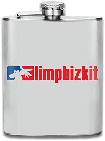 スキットル フラスコ ヒップフラスコ ワインフラスコ ウイスキーボトル 清酒ボトル リンプ ビズキット ステンレス製 錆びない 7OZ 超軽便利 携帯用 高級感 おしゃれ