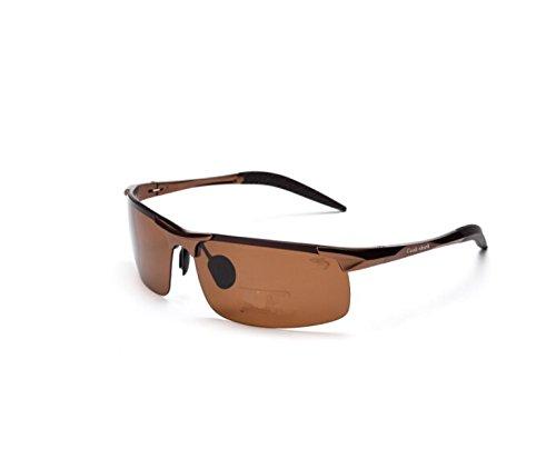 NHDZ Sonnenbrille Fahren Männer Polarisierende Gläser, Gläser Treiber, Spiegel, Sonnenbrille, Fahren, Fischen Und Angeln.