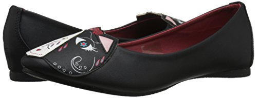 Shoes Women's Flats The Dead u T k Kitty Day Black Of qft4WOwEx