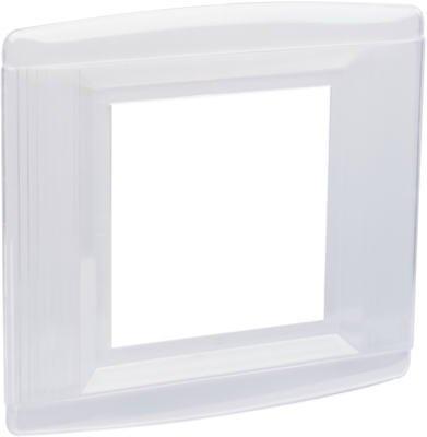 Pass & Seymour S1142CC5-Gang Wall Shield, Clear