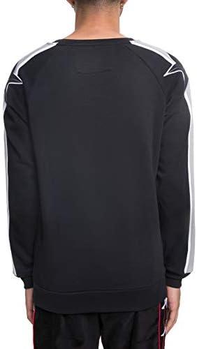 Kappa Sanchez Authentic Sweatshirt, Herren, Schwarz, 2XL