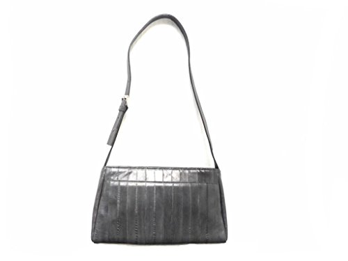 Purse Eel Skin (Lee Sands Women's Eelskin Medium Shoulder Bag 10