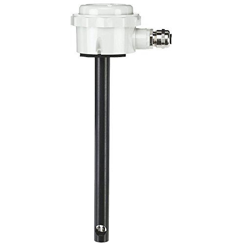 Dwyer AVU-2-A Air Velocity Transmitter, Duct-Mount, 4-20mA Output, ±5% FS Accuracy, 0-1575 FPM (0-8 m/s), NEMA 6 (IP67). Ideal for Cleanrooms, Building Automation, Energy Management and VAV Systems - Vav System
