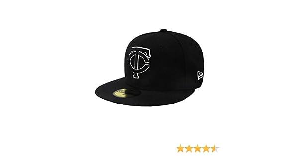 brand new a84f4 1bbc5 Amazon.com   New Era 59fifty Fitted Hat Minesota Twins Tc Baseball Cap MLB    Clothing