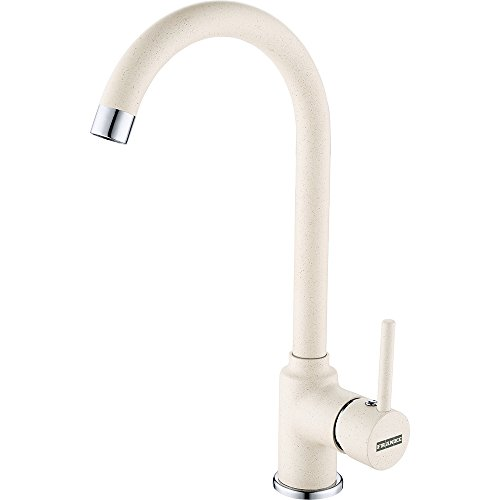 Franke High Pressure Kitchen Tap With Fixed Spout Made Of Fragranite
