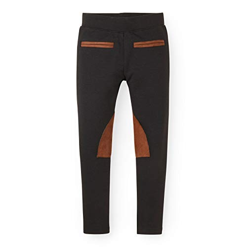 (Hope & Henry Girls' Black Ponte Riding Pants)