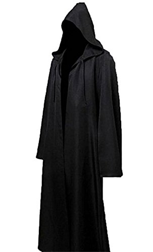 Cosplay Costume JerryCostume Men Tunic Hooded Robe Cloak Knight Fancy Cool