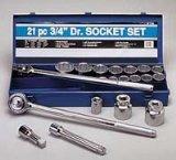 3 4 drive sae socket set - 8