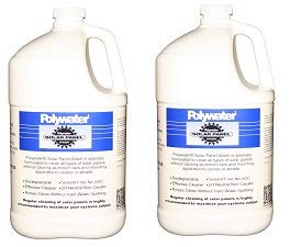 Madison Electric Products SPW-128 Polywater Solar Panel Wash, 1 gal Jug (3.8 Liters) (2-(Pack)) by Madison Electric Products (Image #1)