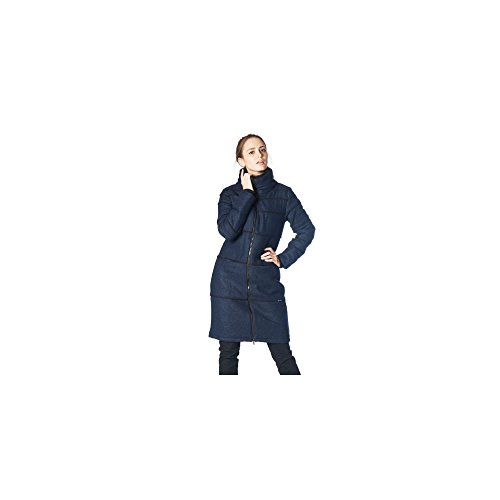 ZERGATIK Abrigo Mujer GOMEN Blue