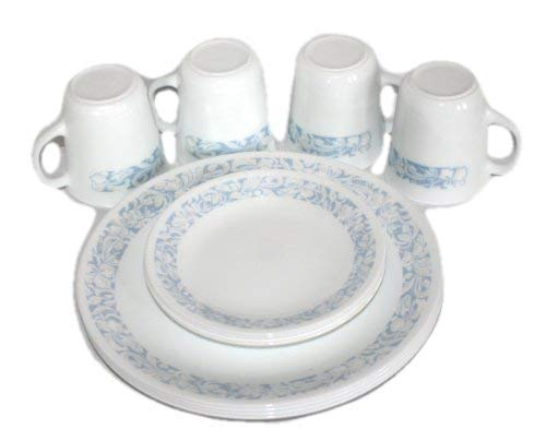 12 Piece Set - 1990 Corning Corelle Livingware