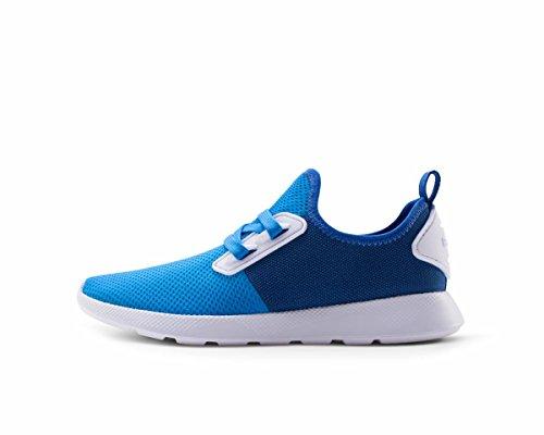 People Footwear Waldo Women's Running Sneaker True Blue/Shady Blue 9