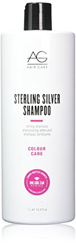 AG Hair Sterling Silver Toning Shampoo, 33.8 Ounce