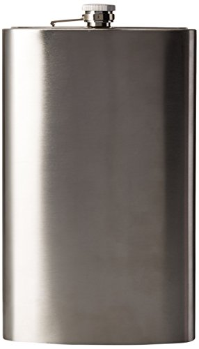 Price comparison product image Wembley Jumbo 64 Oz Flask Silver,  Silver,  One Size