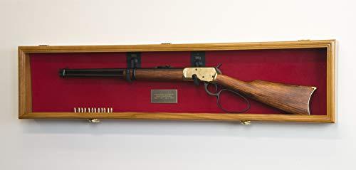 1 Rifle Gun Display Case Cabinet Wall Rack Holder - 44.5