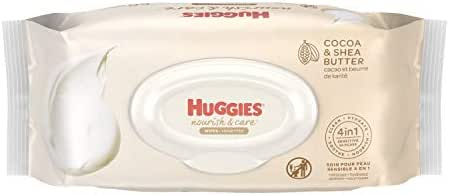 Baby Wipes: Huggies Nourish & Care