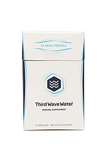Third Wave Water Mineral Enhanced Flavor Optimizing Coffee Brewing Water, Classic Flavor Profile, 0.635oz (2 Pack)