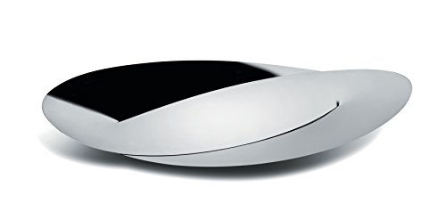 Alessi ''Octave'' Centerpiece in 18/10 Stainless Steel Mirror Polished, Silver by Alessi