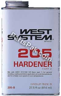 FAST HARDENER #205 .94 Gallon by WEST SYSTEM