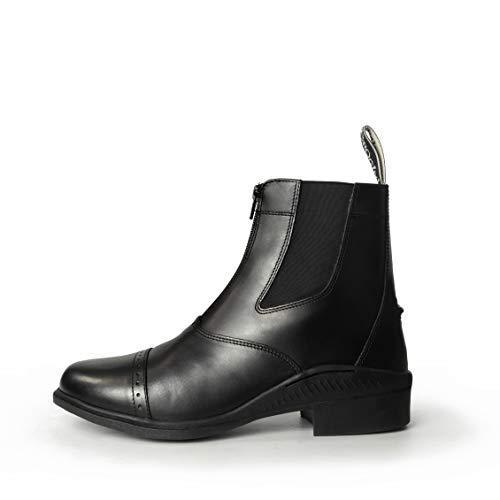Zip Boot Brogini Front Paddock Black qXYHO58w