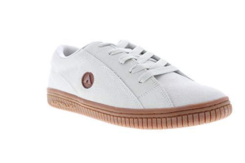 Airwalk Mens The One Gum White Athletic Skate Shoes 9.5 (Skateboards Airwalk)