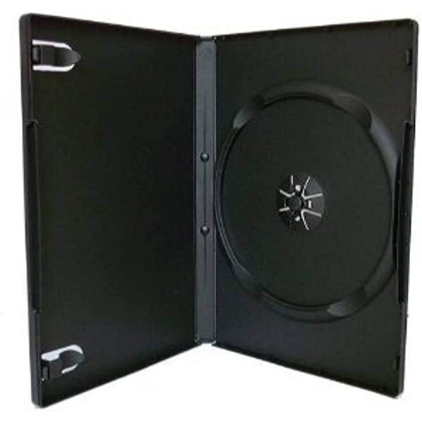 Hama DVD Slim Box 25, Cajas de discos ópticos, Negro ...