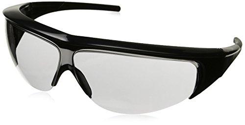 Uvex 11150351 Millennia Safety Eyewear, Black Frame, Gray Ultra-Dura Hardcoat Lens ()