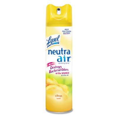 Lysol® Neutra Air Sanitizing Spray Citrus Scent 10oz 3ct (Benckiser Scent Reckitt Citrus)