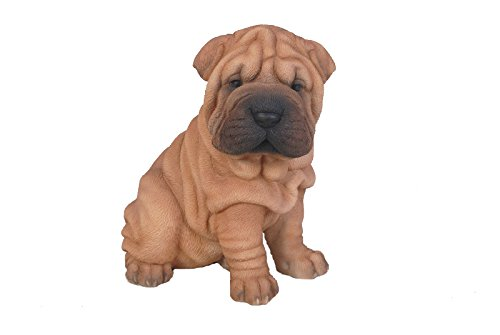 Hi-Line Gift Ltd Sitting Shar Pei Puppy, 625""