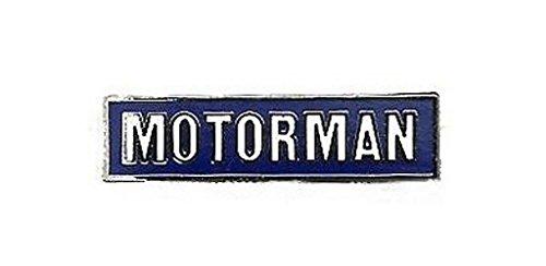 (Motorman Railroad Lapel Pin Hat Tie Tac Brass KOR)