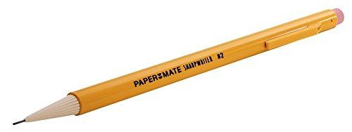 Paper Mate SharpWriter Mechanical Pencils, 0.7mm, HB #2, Yellow, 36 Count - 1921221